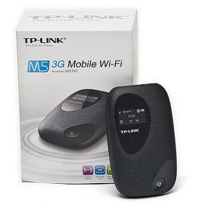 TP-Link M5350 3G Mobile Wi-Fi (Black)